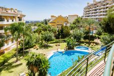 Swimming Pool of Elegant 2 Bedroom Apartment with Terrace in Nueva Andalucia