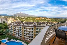 Terrace of Elegant 2 Bedroom Apartment with Terrace in Nueva Andalucia