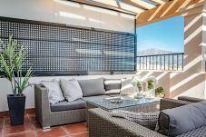 Terrace of Exclusive holiday penthouse in San Pedro