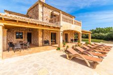 Country house in Son Carrió - Finca Es Molinet Nou » charming country house with pool and views over the village
